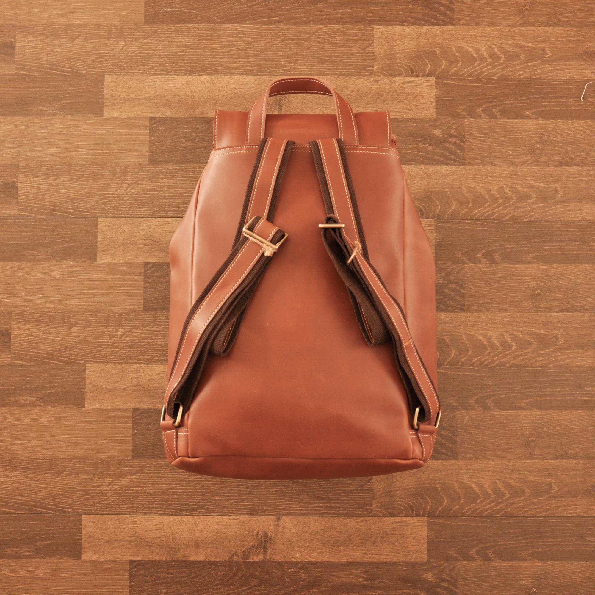 Model 1 - Brown - Back